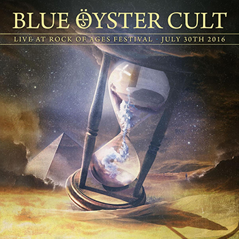 Blue Oyster Cult Rock of Ages Festival 2016 album cover art