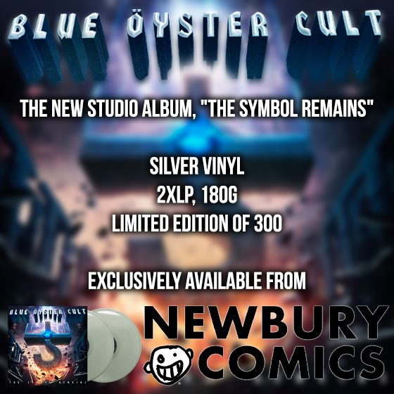 Newbury Comics limited silver vinyl edition The Symbol Remains